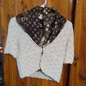 Express crochet v-neck vest